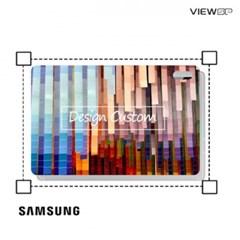 뷰에스피 갤럭시탭S7 플러스 디자인 커스텀 스킨 외부보호필름 1매