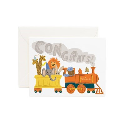 Little Engine Congrats Card 베이비 카드_(458206)