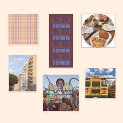 COLLAGE스티커팩 'TOWN'