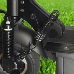 자전거자물쇠 헬멧 안장 도난방지 킥보드 와이어락