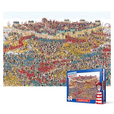 1000피스 직소퍼즐 - 월리를 찾아라 트로이 전쟁