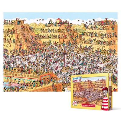 1000피스 직소퍼즐 - 월리를 찾아라 아즈텍 축제