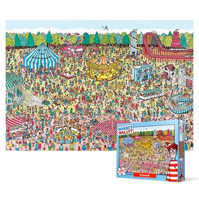 1000피스 직소퍼즐 - 월리를 찾아라 놀이공원