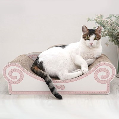 고양이 소파 스크래쳐 핑크 캣 장난감 고양이 전용