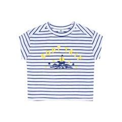 [마미버드] 보트 트립 티셔츠 (블루)
