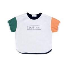 [마미버드] 빛과 소금 배색 티셔츠 (2color)