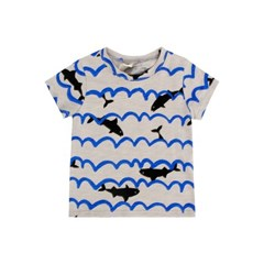 [마미버드] 바다에 빠진 상어티 (2color)