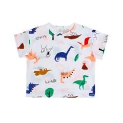 [마미버드] 공룡 친구 티셔츠 (2color)