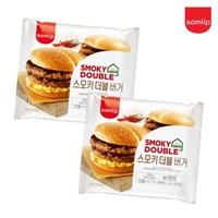 냉동 스모키더블버거 4봉/햄버거/간식/간편식/즉석식품/_(2674232)