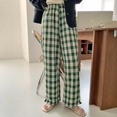 스윙 투웨이체크밴딩팬츠 (2color)