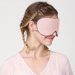 딥슬리핑 양면 수면안대 2p세트(핑크+네이비)