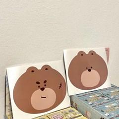 [도빵씨]봉지 빅스티커