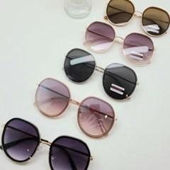 블랙 도수없는 가벼운 미러 데일리 패션 선글라스