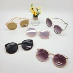 기본 심플 블랙 퍼플 도수없는 가벼운 패션 선글라스