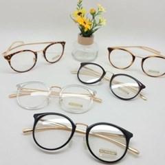 레오파드 호피 심플 기본 도수없는 가벼운 패션 안경