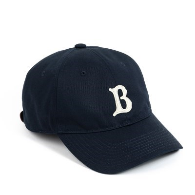 LB TWILL BASEBALL CAP (navy)