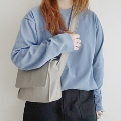 mini shoulder & cross bag (beige)