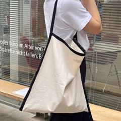 Color frame bag ( ivory&black )
