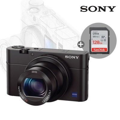 소니 사이버샷 하이엔드 카메라 DSC-RX100M3 + 128GB 메모리 패키지