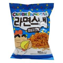 크레용신짱 라면스낵 양념치킨맛 90g