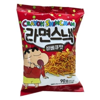 크레용신짱 라면스낵 바베큐맛 90g