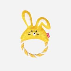 토끼 매쉬 로프 강아지 장난감