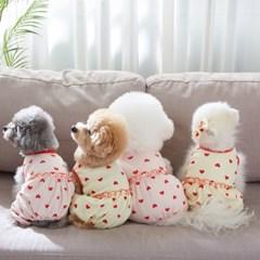 하트봉봉 강아지올인원 2color 펫츠앤미
