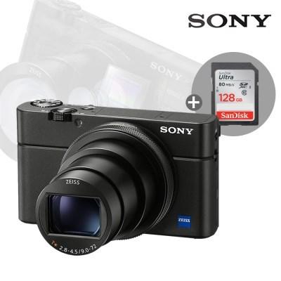 소니 하이엔드 디카 DSC-RX100VII /RX100M7 + 128GB 메모리 패키지