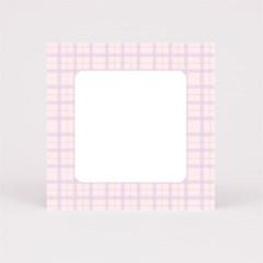 핑크스퀘어체크 떡메모지