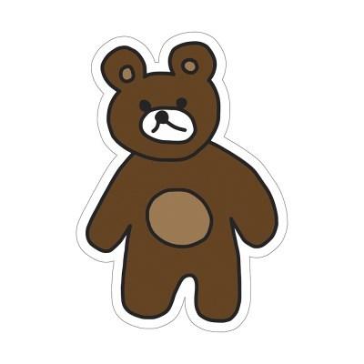 곰 곰둥이 리무버블 스티커