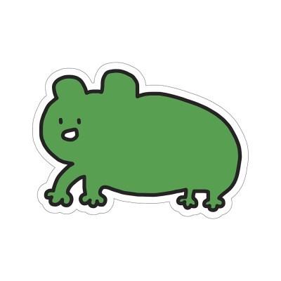 개구리 옹석이 리무버블 스티커