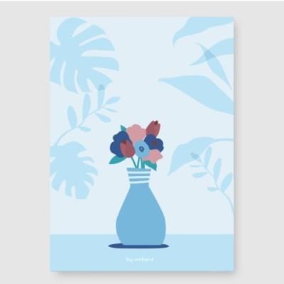 꽃방 A3 포스터
