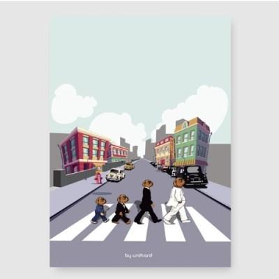 개틀즈 A3 포스터