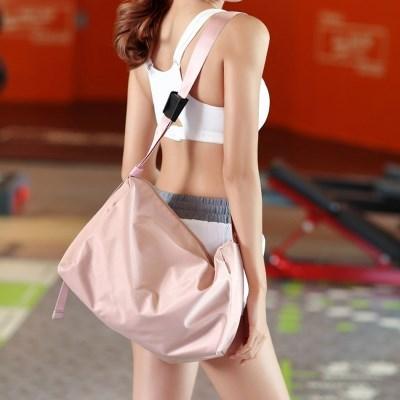 에이블리 버블리 남녀공용 피트니스 폴딩 숄더백 크로스백 가방