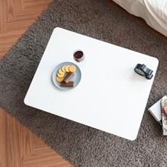 제이픽스 우드 접이식 테이블 좌식 밥상 800 - 화이트