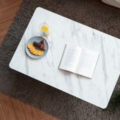 제이픽스 마블 접이식 테이블 좌식 밥상 800 - 블랙
