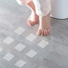 바닥 미끄럼방지 투명 스티커 20p 계단 논슬립