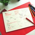 Paperways Desk Notepad -Cross Grid