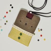 [펠트DIY] 귀염둥이 카드목걸이 - 옐로우 만들기
