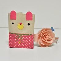 [펠트DIY] 러브모드 카드지갑 - 핑크 만들기