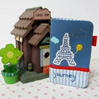 [펠트DIY] 에펠탑 여권지갑 만들기