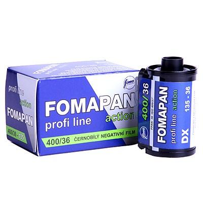 포마 흑백필름 400-36컷 (1롤) FOMA ACTION 400