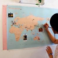 데코 트래블 월드맵 [꾸미는 세계 지도]