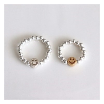 [Silver925] Smile band ring_(1550562)