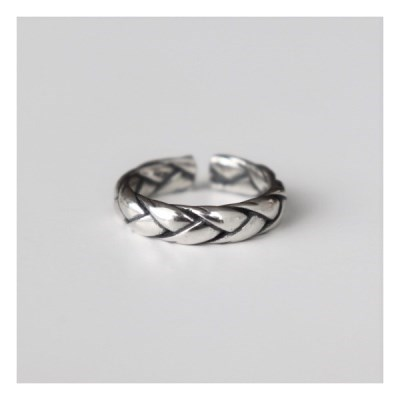 [Silver925] Antique bold rope ring_(1551973)