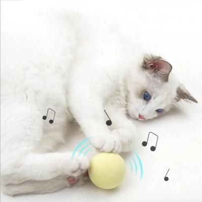 묘심 소리나는 고양이 양모볼 캣잎 개구리 귀뚜라미 산새소리 3종