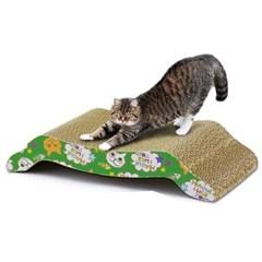 도트캣 퍼니 스크래쳐 M자형 고양이힐링장난감