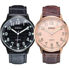 피닉스 남성시계 남자시계 가죽시계 손목시계 KE-1293