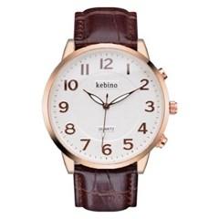피닉스 남성시계 남자시계 가죽시계 손목시계 KE-1292
