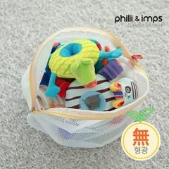 [필리앤임프스]국내생산 무형광 원형 세탁망 스몰 S_(1552340)